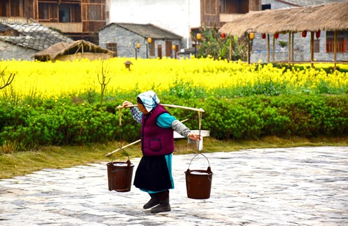 Old Han woman in Beizhai