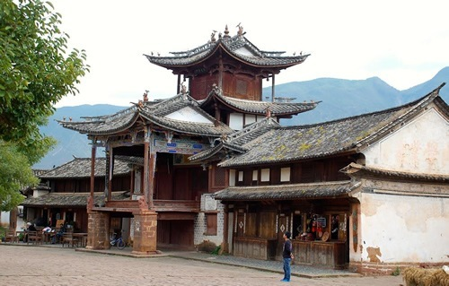 Ancient town of Shaxi, China