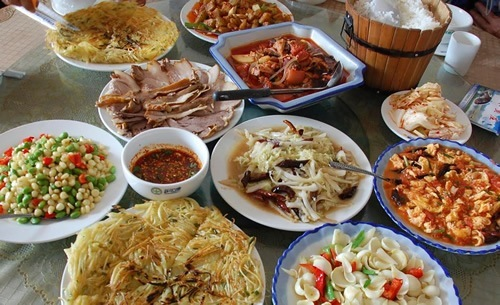 Some food in China