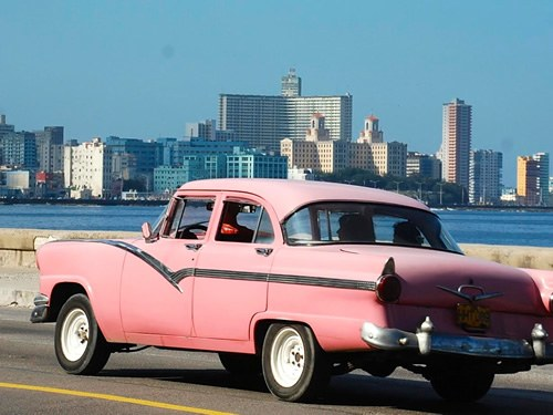 Driving in Havana