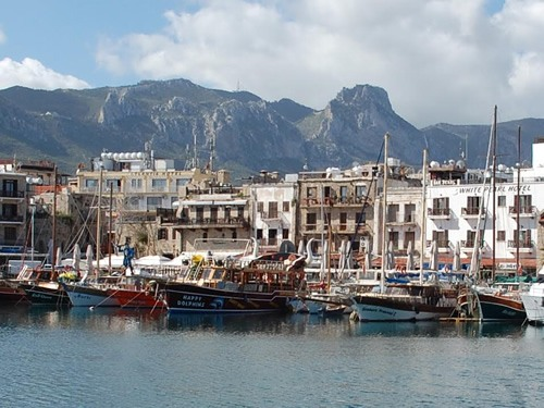port of Kyrenia (Turkish: Girne)