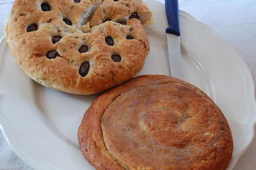 Traditional Cypriot breads