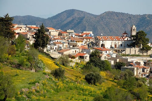 Villages along the wine routes of Cyprus
