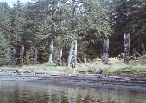 Totems of the Haida Nation
