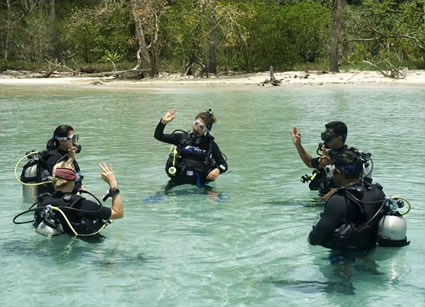 Andaman Islands Beginners Scuba Class
