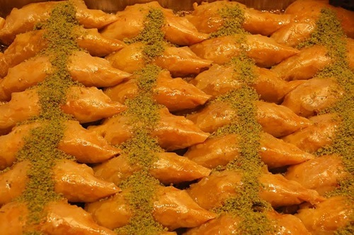 Baklava in Istanbul food tour