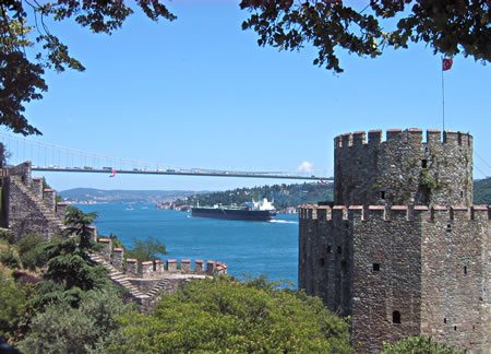 Rumeli Fortress on Bosphorus, Istanbul, Turkey
