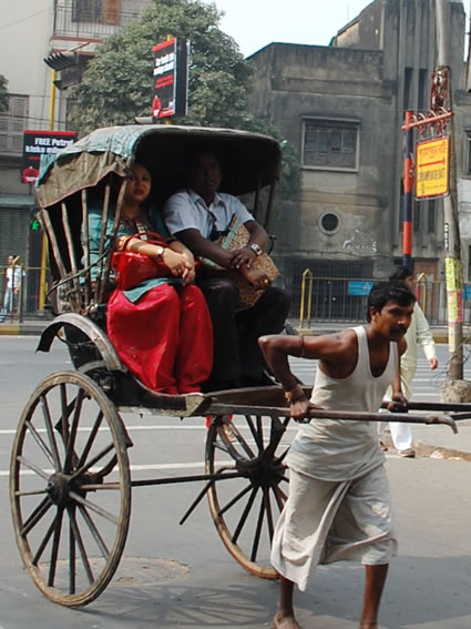Kolkata rickshaws