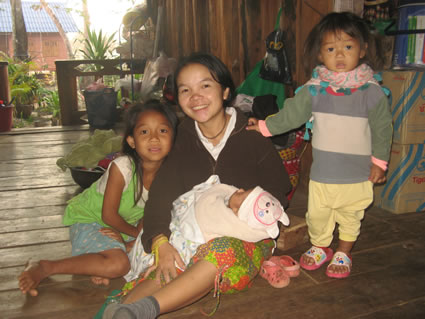 Beautiful children in Laos