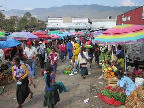 The Municipal Market in San Cristobal de las Casas, Mexico