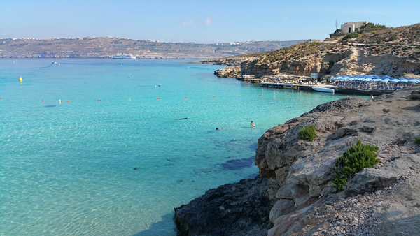 Comino Blue Lagoon in Malta