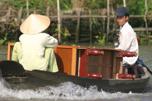 Chest of drawers on the Mekong River