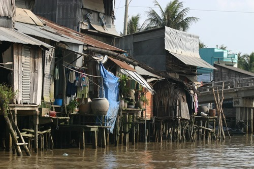 Mekong River housing