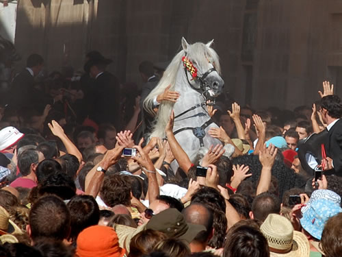 Festival of Sant Joan in Menorca, Spain