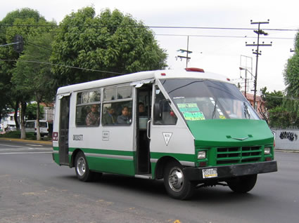 Mexico City Bus