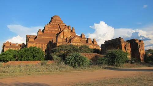 Monumental temple in Bagan