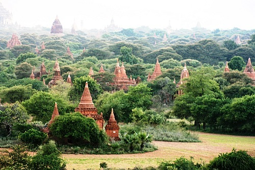 Bagan, Myanmar temples and monuments