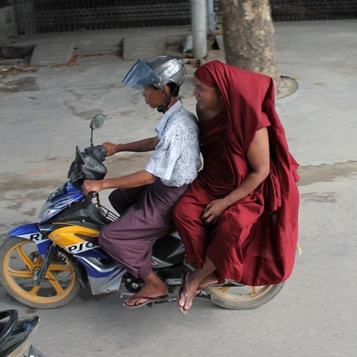 Going in Circles in Myanmar