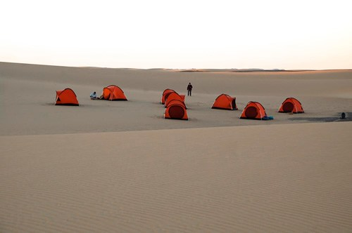 camping in the desert: silence, space, and star gazing