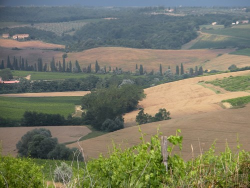 Tuscany in late spring