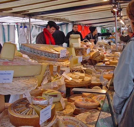 Parisian cheeses