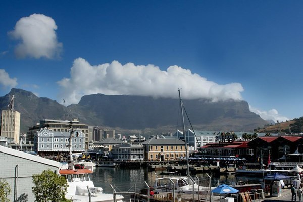 Waterfront at Cape Town, South Africa