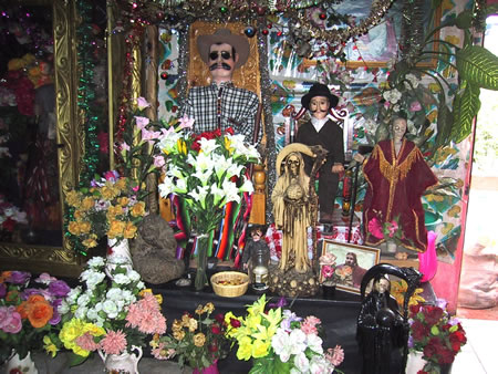 San Simon Shrine in Chichicastenango, Guatemala