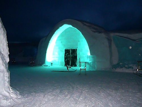 Polar nights  in Scandinavia