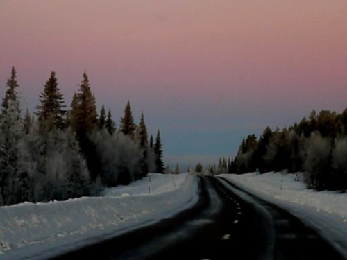 Eerie landscapes in Scandinavia