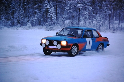 Ice racing in Scandinavia