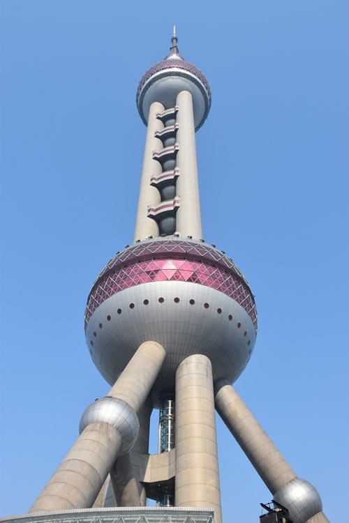 The Oriental Pearl TV Tower, housing the Shanghai History Museum