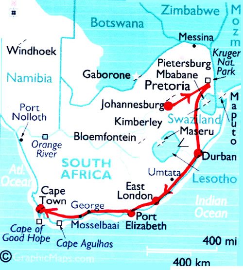 Slow Immersion Travel in South Africa: How to Meet the Rainbow Nation South Africa Travel Maps