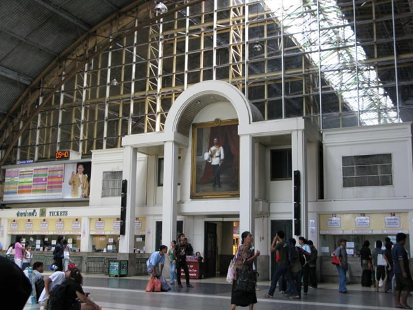 Bangkok is the Hub for Southest Asian Train Travel