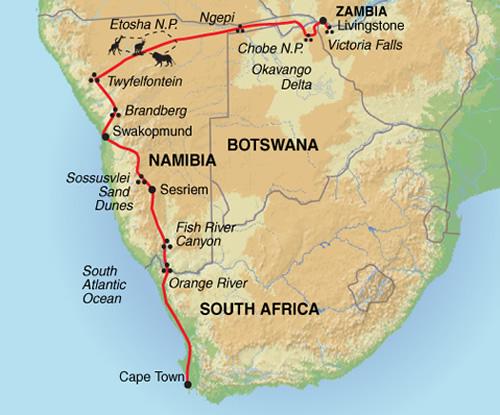 Wildlife Safari Camping in South Africa