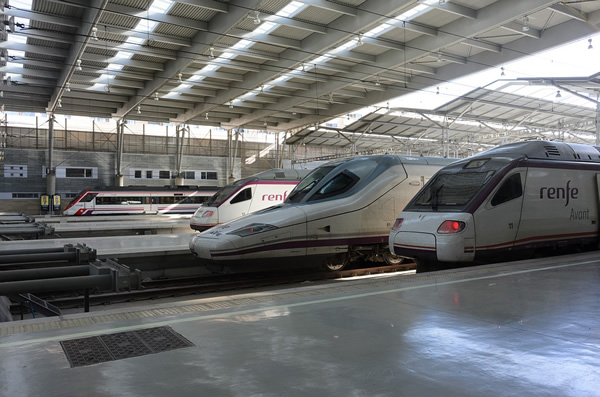 Travel in Europe on comfortable bullet trains
