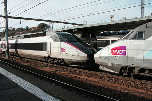 Affordable train travel in France on bullet trains
