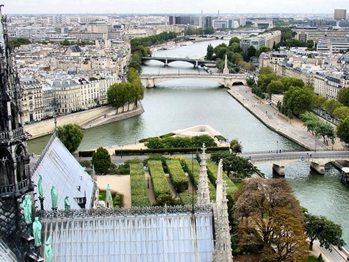River Seine from Notre Dame
