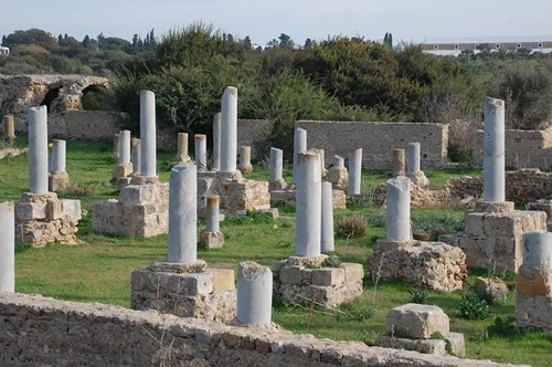 Ruins of ancient city of Carthage