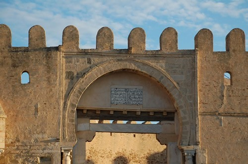 A gate of the walled city of Kairouan