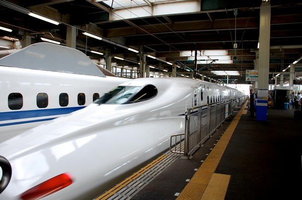 Bullet trains in Japan
