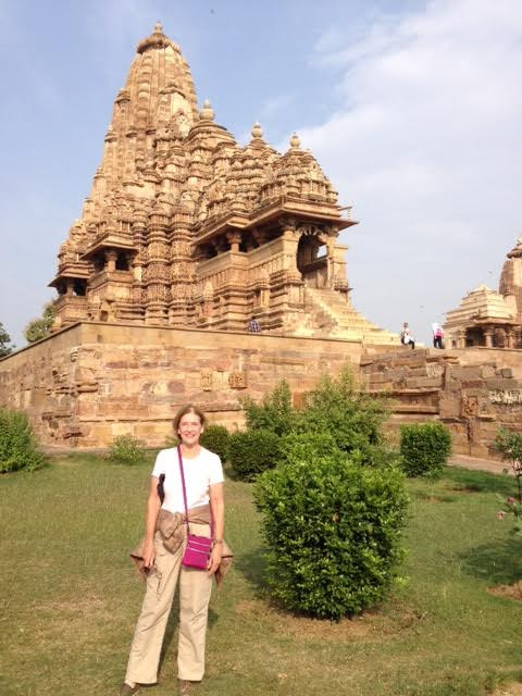Phyllis in India on women tour