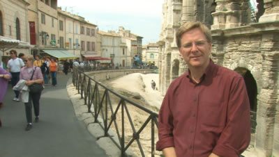 Rick Steves in Arles, France
