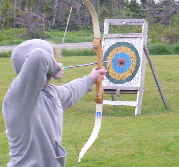 Archery at L'Istorlet