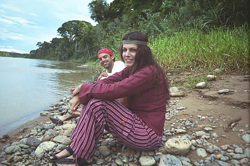 On the banks of the Beni River, Bolivia