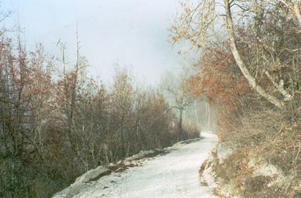 Bosnia winding road