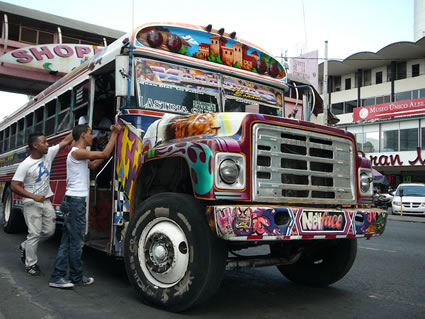 The Diablo Rojos Buses of Panama City