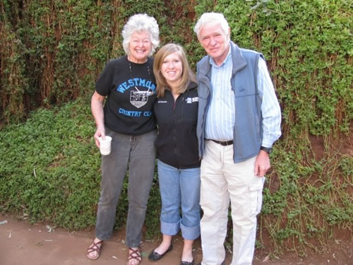 Dick and Millie in Kenya