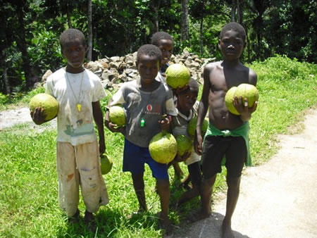 Children in Sao Tome
