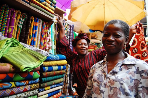 Market Vendors in Lagos, Nigeria. Photo courtesy Transitions Abroad
