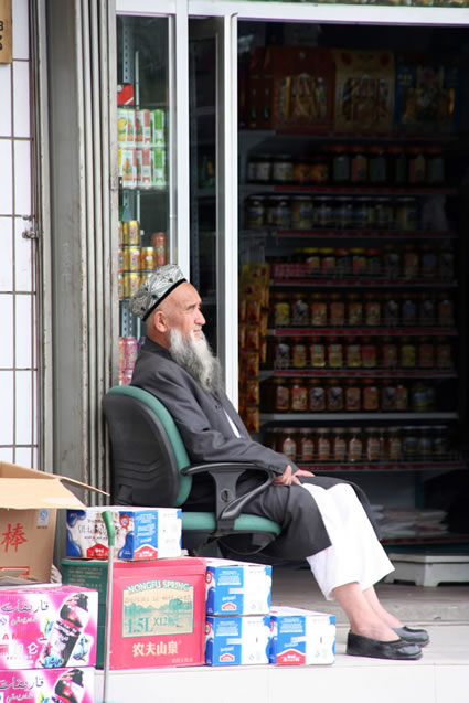 Shopkeeper in Tashkurgan
